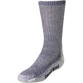Smartwool Kids Hike Medium Crew Barn navy